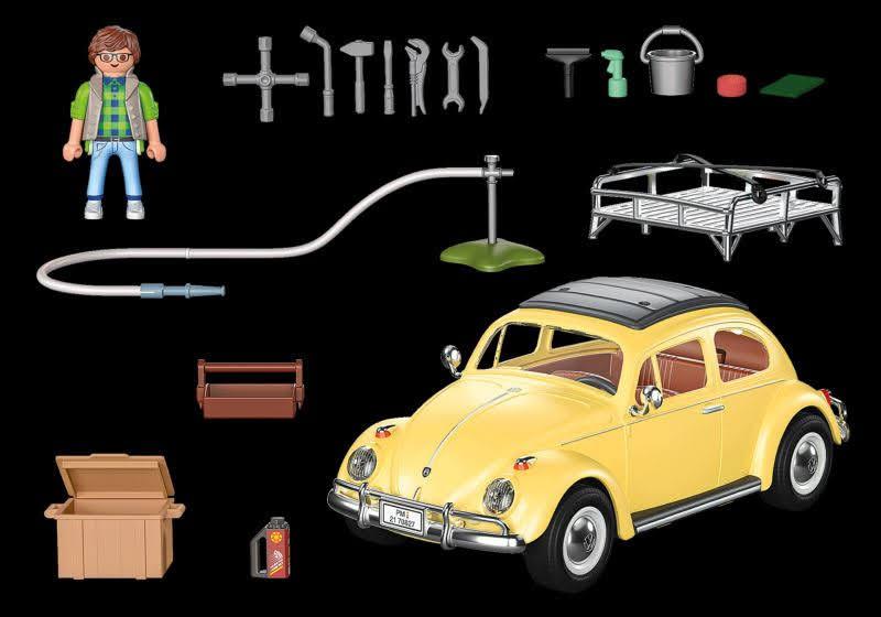 Contenido Real de Playmobil® 70827 Volkswagen Beetle - Edición especial
