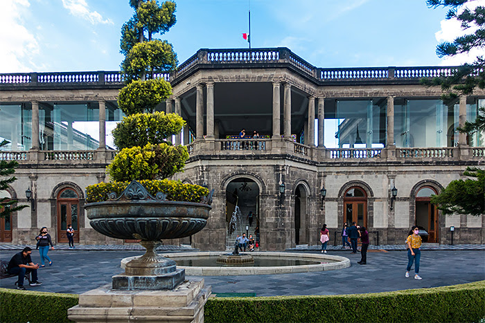 Castillo de Chapultepec , Mexico City