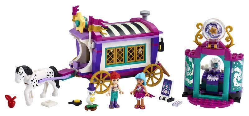 Contenido de LEGO® 41688 Mundo de Magia: Caravana