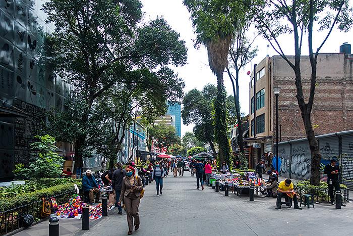 Avenida Paseo de la Reforma, Mexico City