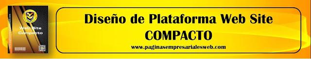 Diseño de Plataforma Web Compacto