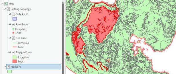 Topology Data Spasial