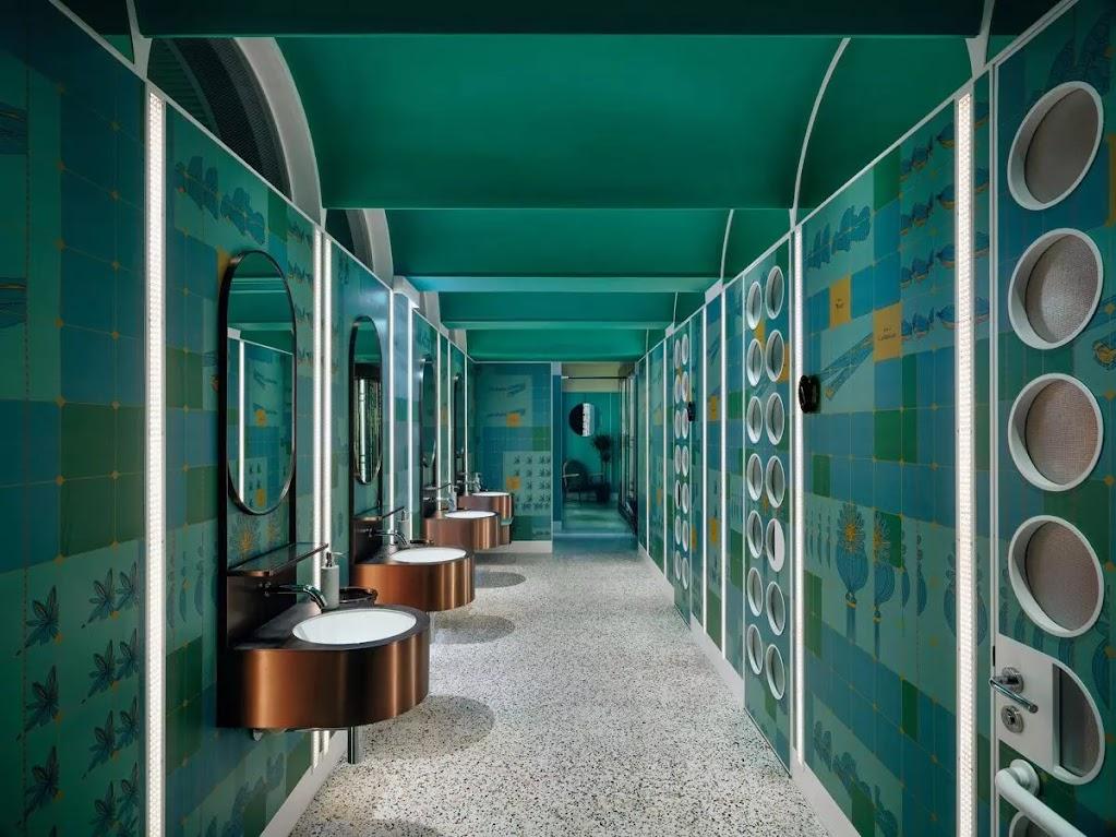 thiết kế nhà vệ sinh nhà hàng