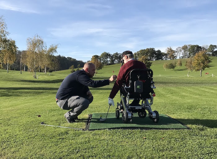 Golf project helps local stroke sufferers
