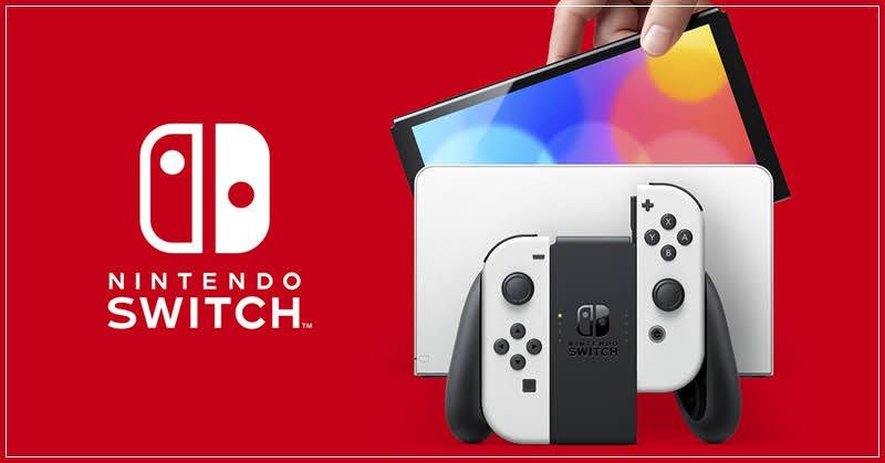 Nintendo Switch OLED รุ่นใหม่ จอใหญ่ สเป๊คเดิม