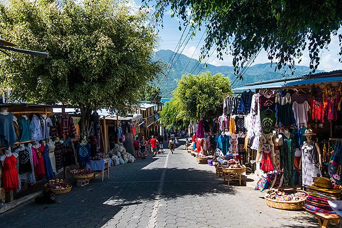 Mirador, San Juan la Laguna, lacul Atitlan