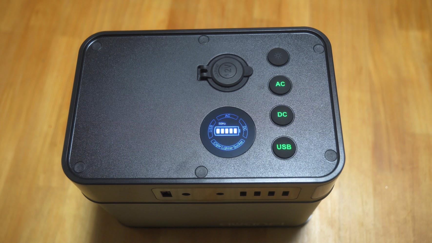 小型大容量ポータブル電源 AWANFI A61