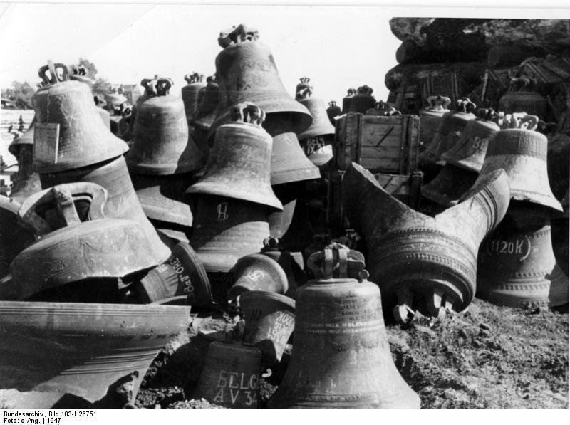Glockenfriedhof, os cemitérios de sinos das guerras mundiais