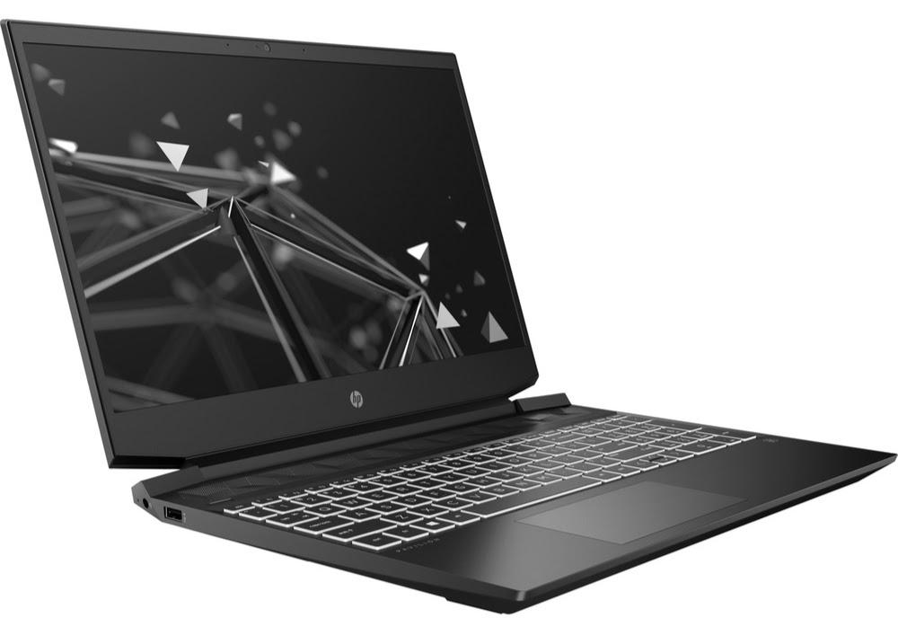 HP Pavilion Gaming Laptop 15-ec1015nj left pers