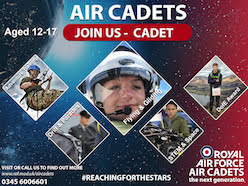 Air cadets launch recruitment drive