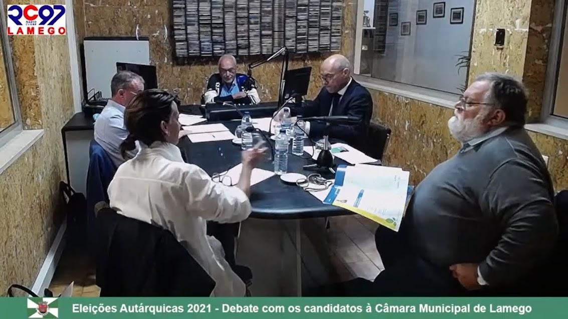 Vídeo - Debate com os candidatos à Câmara Municipal de Lamego - 2021