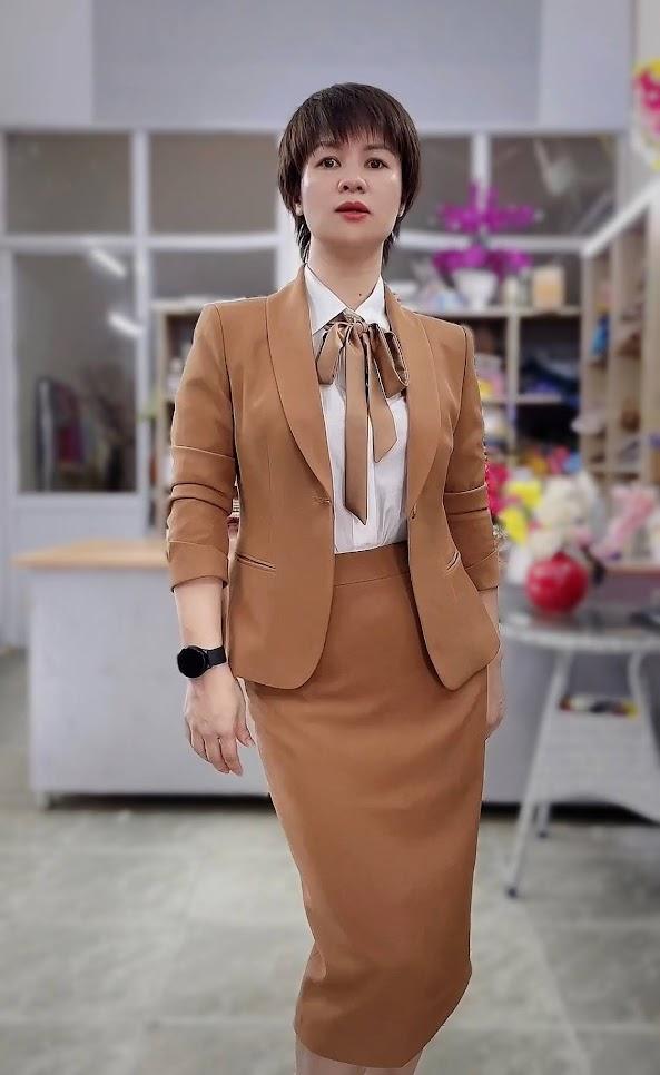 áo vest nữ đồng phục công sở bên bảo hiểm thời trang thủy quảng ninh