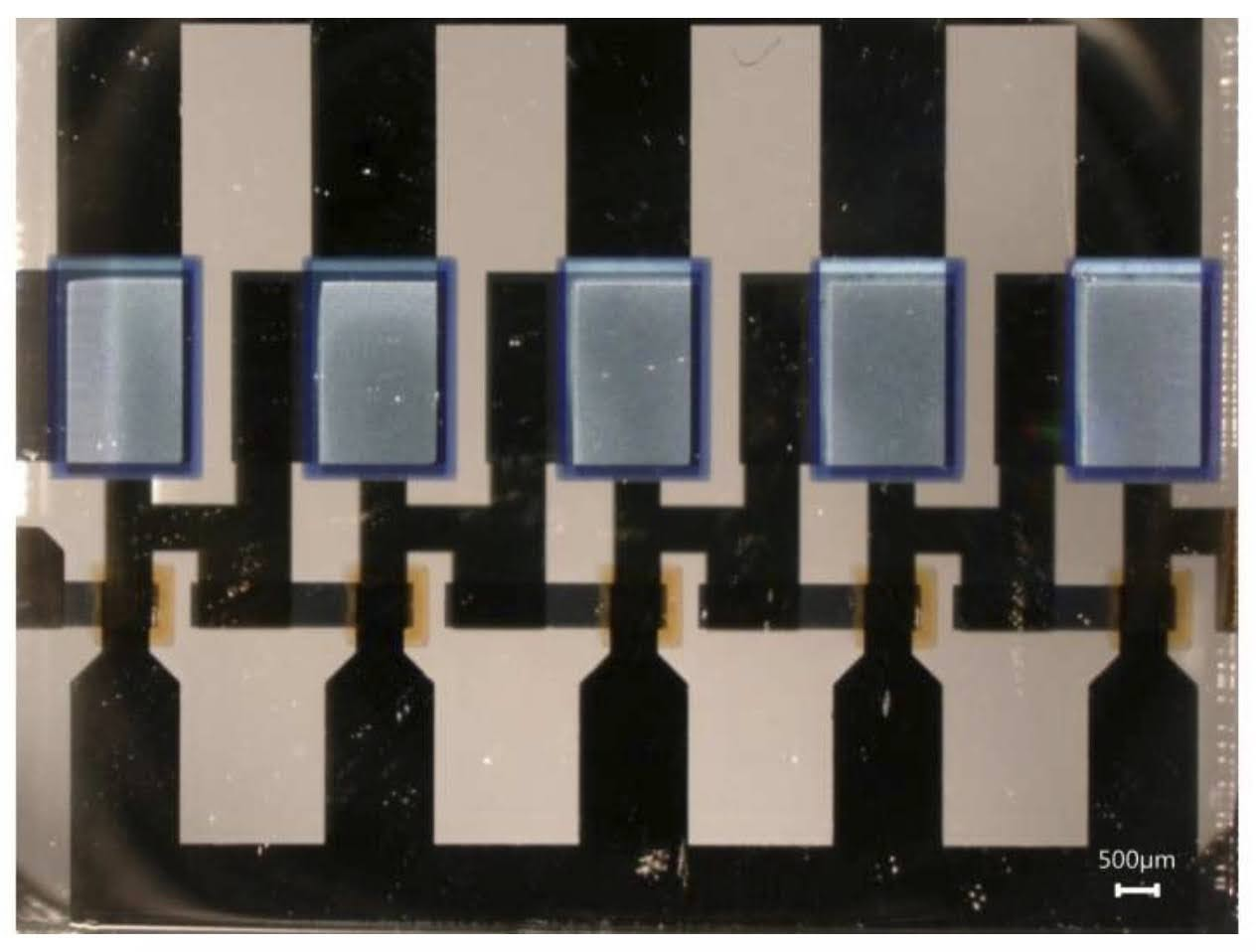 Researchers at the TU Dresden, Germany have implemented high-frequency essential building blocks with low power consumption using organic materials.