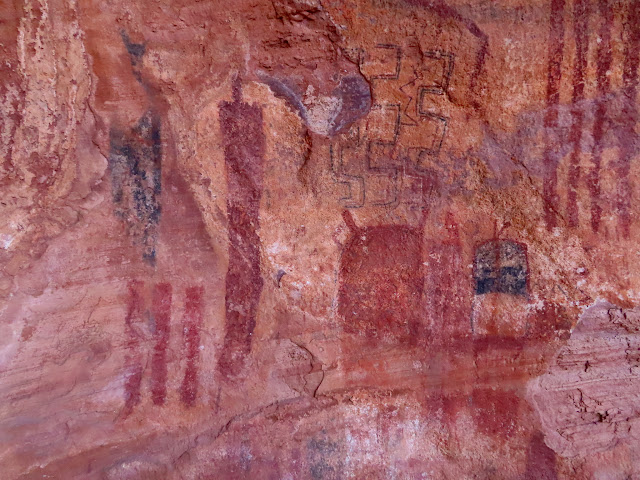 The Gulch pictographs