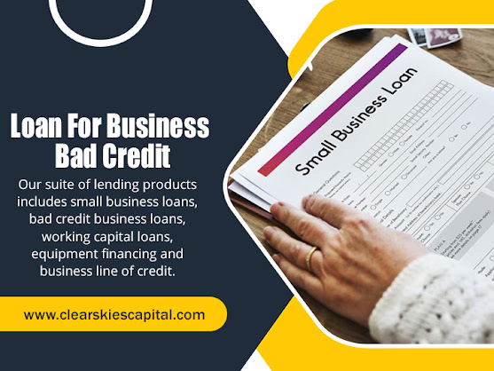 Loan For Business Bad Credit