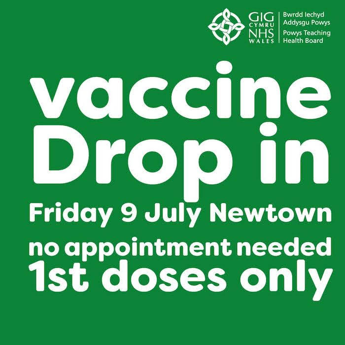 Get tested and get your first dose of the vaccine