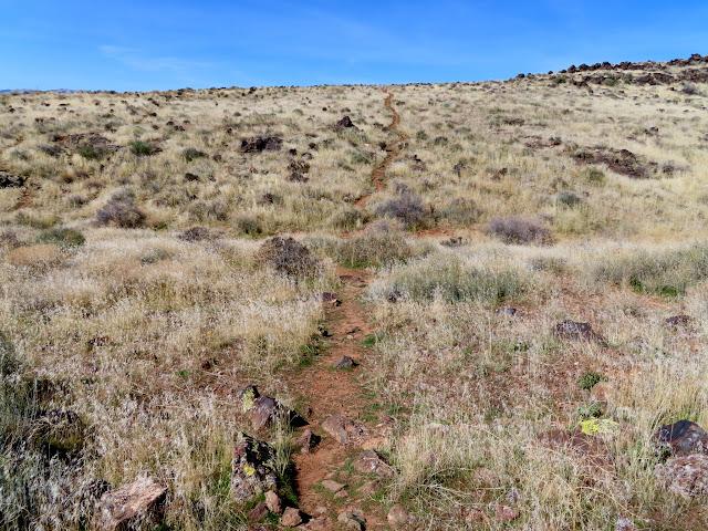 Trail near Snow Canyon State Park