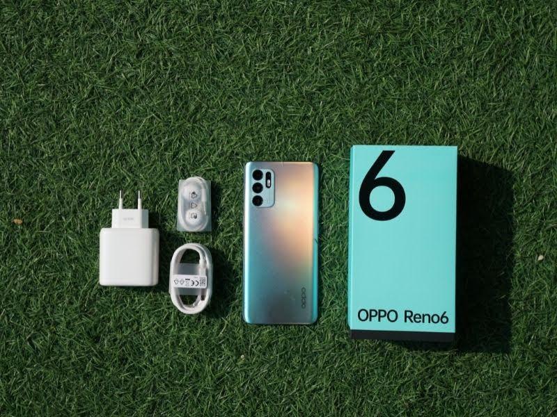 handphone OPPO Reno6 dengan fitur kamera lengkap portrait expert
