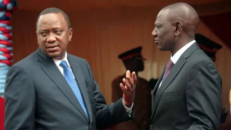 PRESIDENT UHURU TO DP RUTO: Quit If You Are Tired Or Dissatisfied