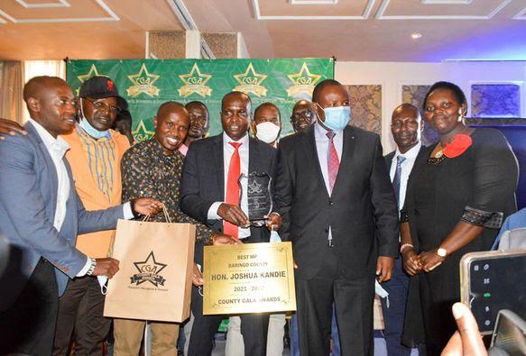 Baringo County Leaders Feted in 2021 County Gala Awards (CGA)