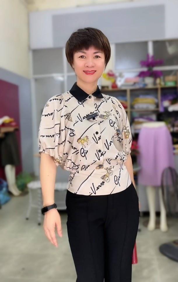 áo sơ mi nữ công sở phối đồ mặc đẹp thời trang thủy hà nội