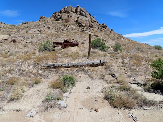 Mining junk at Crater Island
