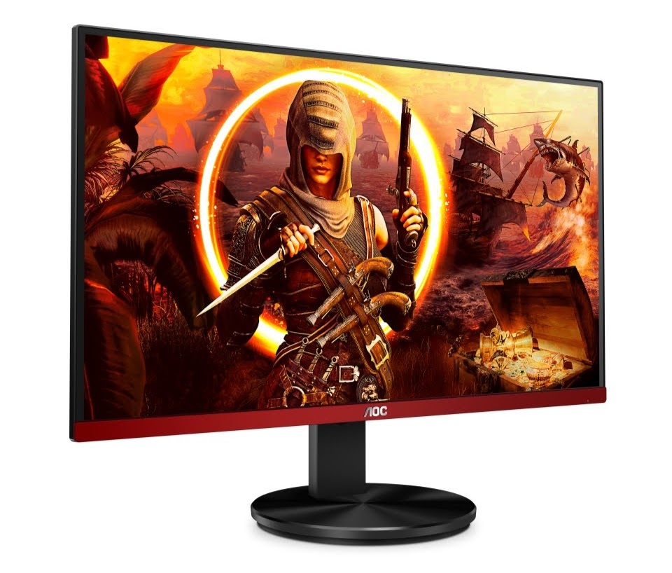 AOC Gaming Monitor 23.8 G2490VXA Left pers view