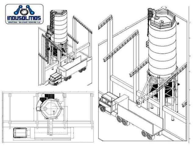 Construcciones y Montajes Tanques industriales