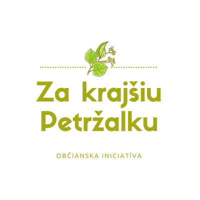 Logo Za krajšiu Petržalku
