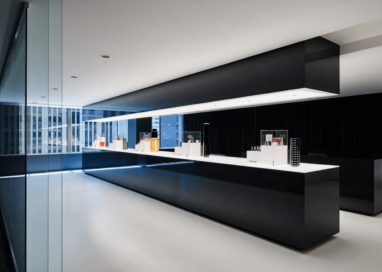 thiết kế nội thất công ty mỹ phẩm