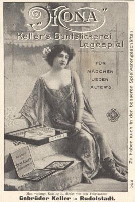 Gebrüder Keller - Mona - Anzeige 1905 - (c) ankerstein.ch