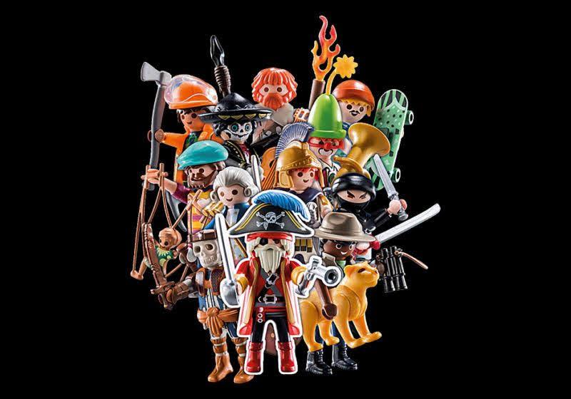 Contenido de Playmobil® 70148 Colección Completa Sobre Sorpresa  Serie 19 Niños