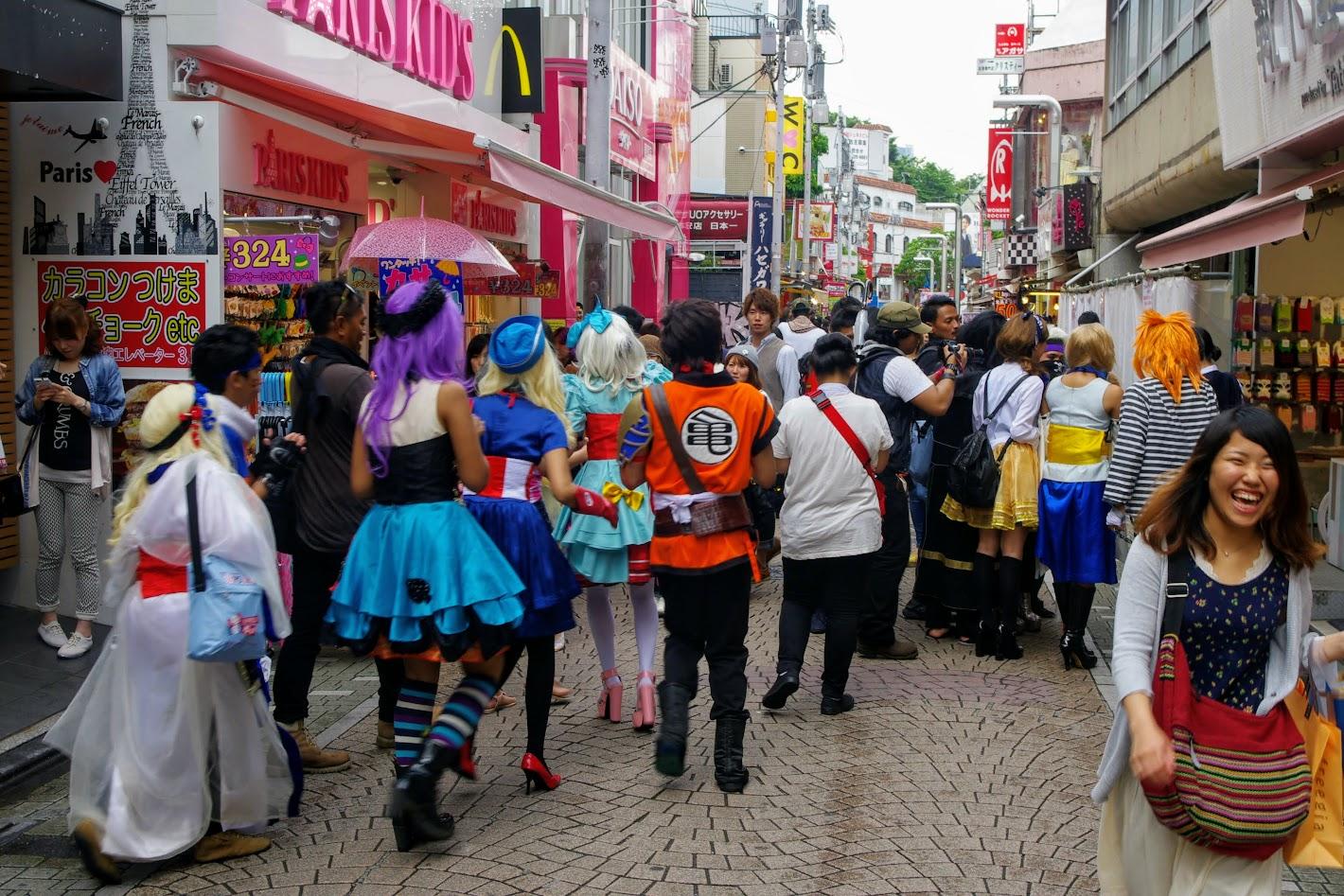 Calle Takeshita Doori