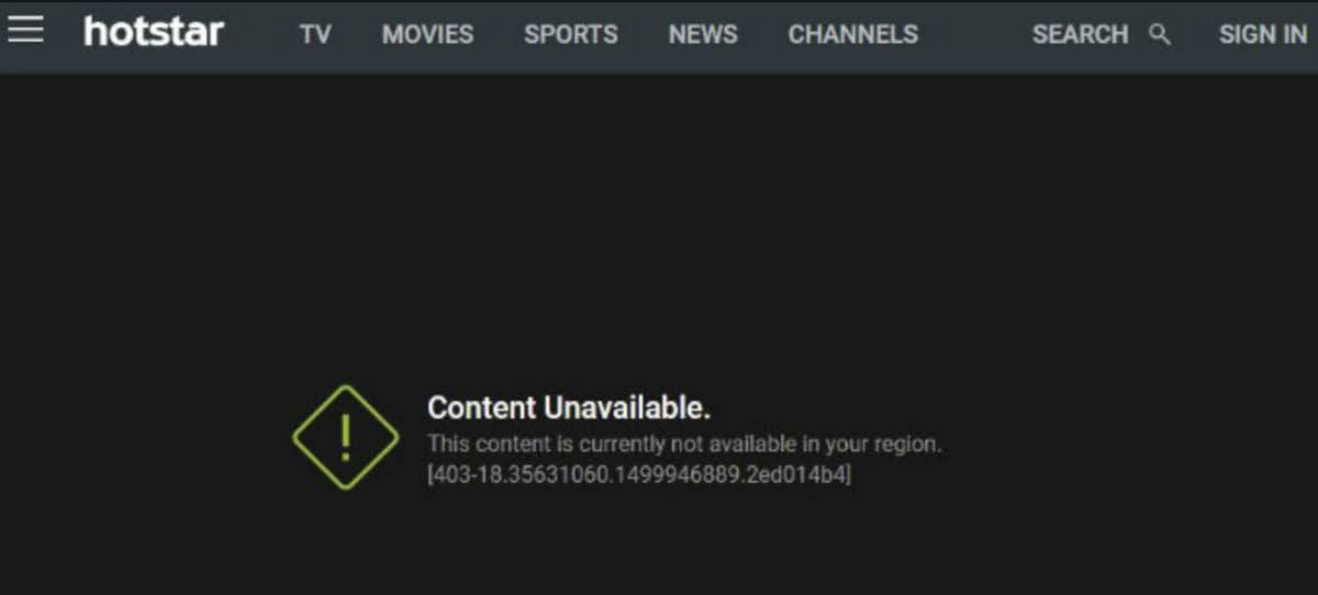This content is currently not available in your region.