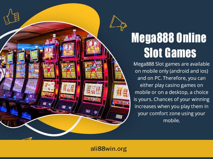 Mega888 Online Slot Games