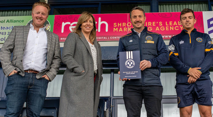 Welshpool firm scores with Shrewsbury Town