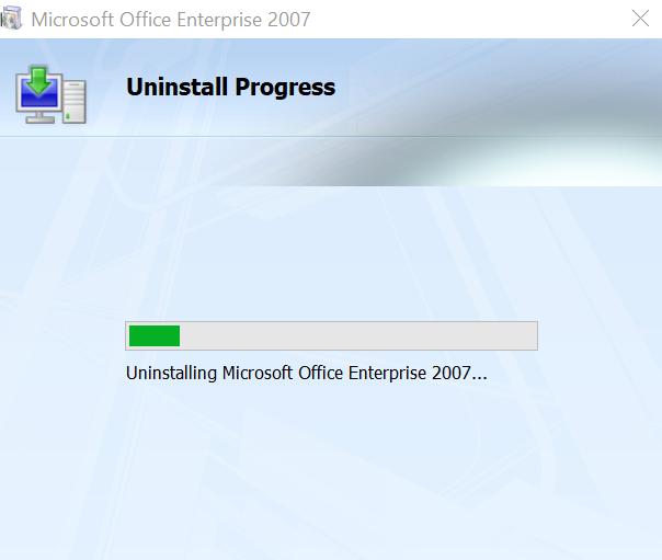 hướng dẫn gỡ office 2007