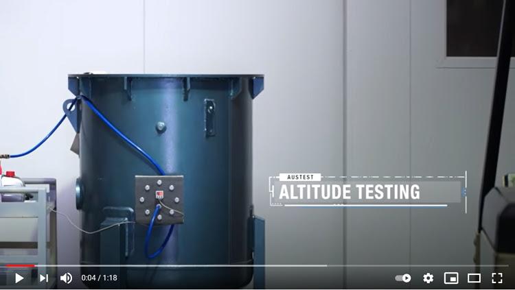 Low Pressure (Altitude) Testing
