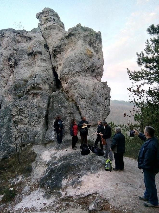 Csillagnéző túra a Sas-sziklához @ Piliscsaba