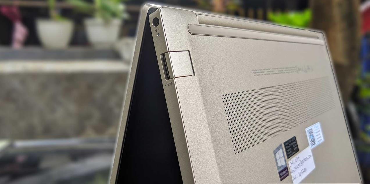 Review HP Pavilion Aero 13-be0001AU - Design 2