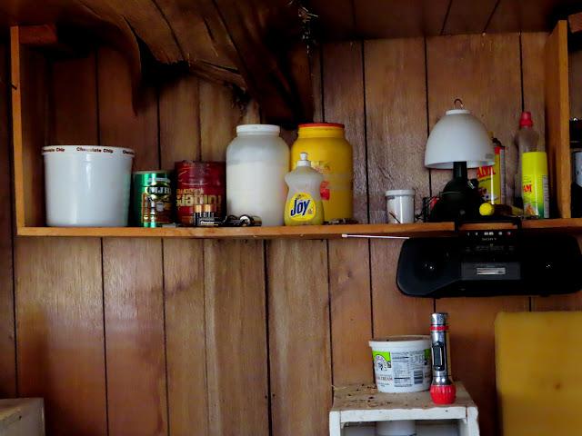 Inside Kelly's Cabin
