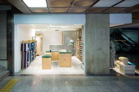 thiết kế shop bán kimono