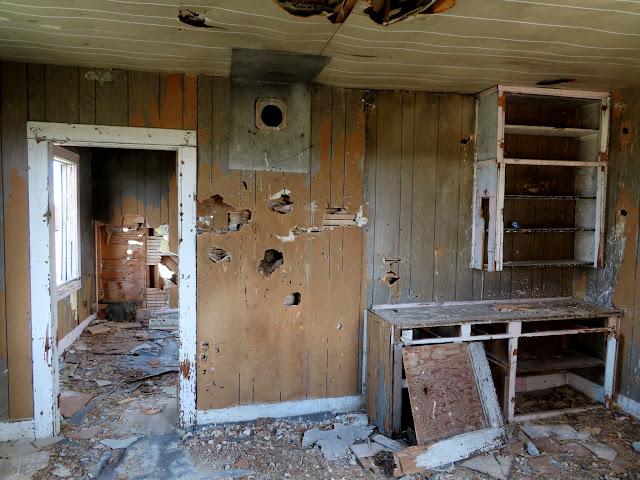 Inside a cabin at Locomotive Springs