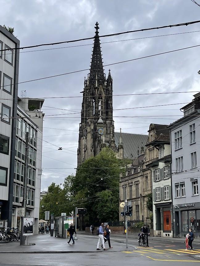 в городе Базеле кратко полазили
