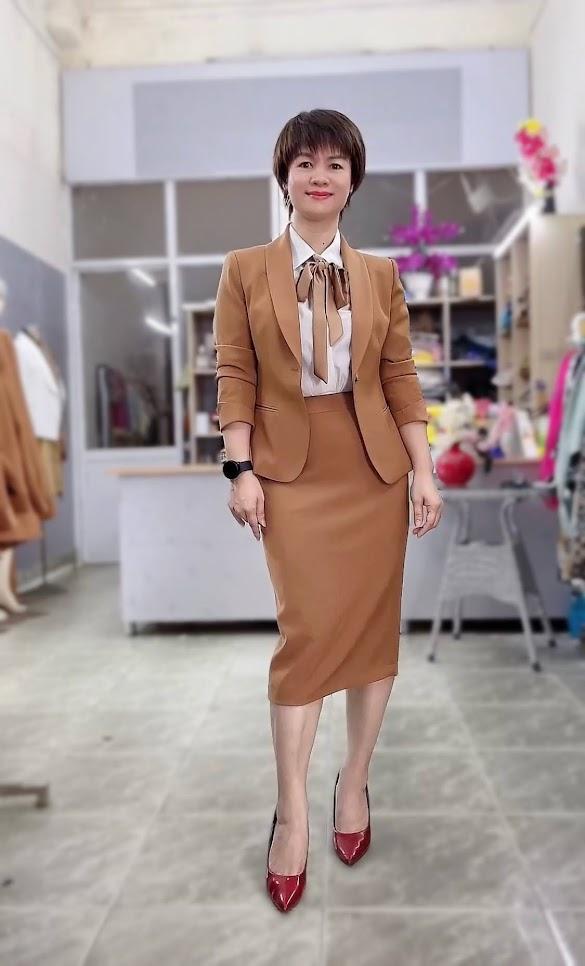 áo vest nữ đồng phục công sở bên bảo hiểm thời trang thủy thủy nguyên