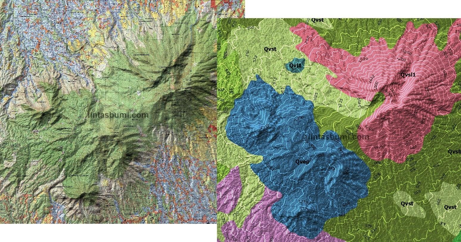 'More Hilly' Hillshade : Komparasi Blend Layer Di Global Mapper dan ArcGIS Pro
