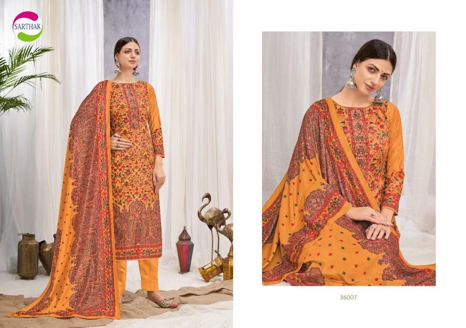 Buy Sarthak Prints Maryam Pant Style Ladies Suits Catalog On
