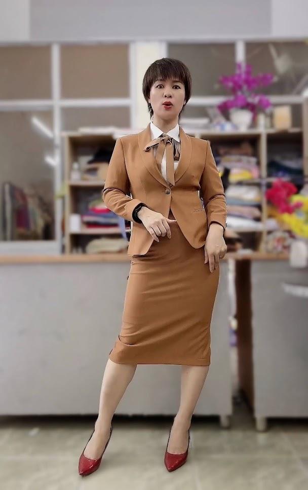 áo vest nữ đồng phục công sở bên bảo hiểm thời trang thủy nam định