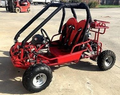 5.7HP 90cc Kids Dune Buggy Go Cart with Rollcage 2 seater
