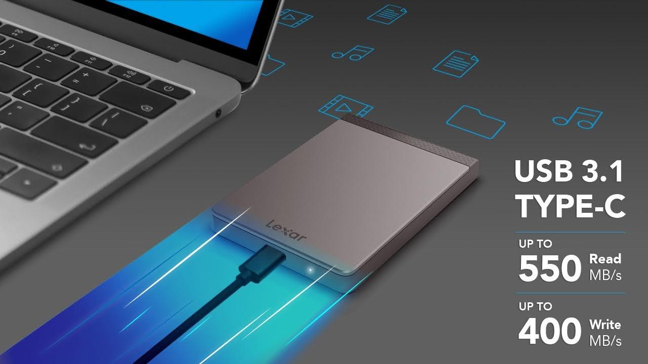 Lexar LS200 usb-c SSD SPECS